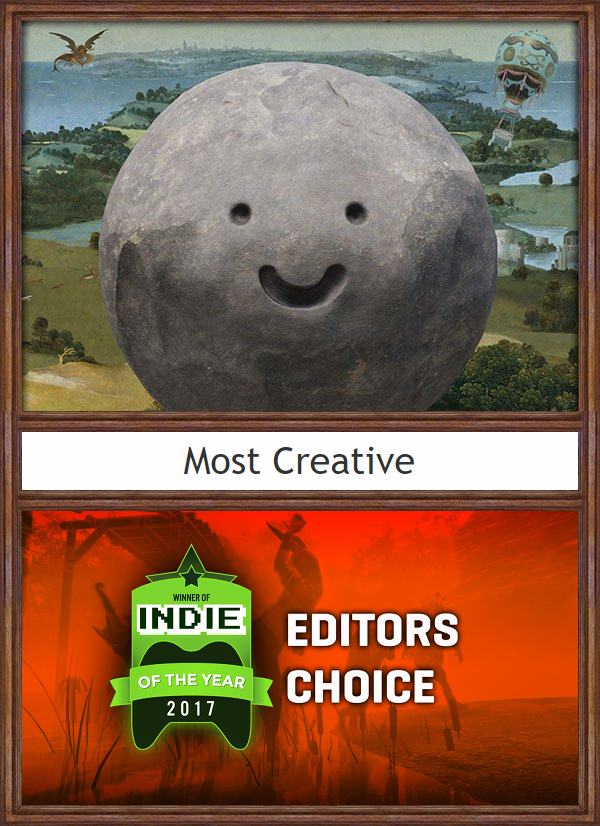 #RockOfAges2 wins 'Most Creative' game in Indie DB's Editor's Choice awards! Thank you for choosing the Rock, we're honored. :)  #ACETeam #AtlusUSA #Atlus #AtlusGames #Gaming #VideoGames #VideoGame #GameDev #GameDevelopment #IndieDev #IndieGame #IndieGames #PCGame #PCGames #PlayStation4 #PS4 #XboxOne #Steam #TowerDefense #Racing #RacingGame #RoA2 #UnrealEngine #UnrealEngine4 #UE4 #IndieDB