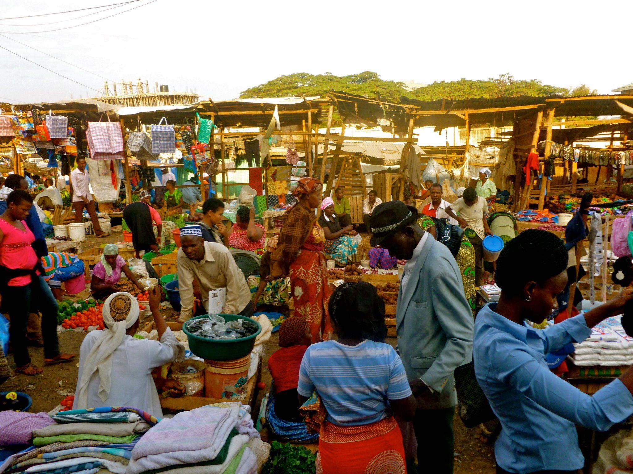 Used Clothing Market Outside Of Moshi Tanzania Tanzania Africa World Thinking Day Holidays Goals