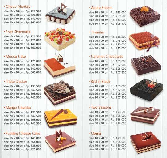Kue Dapur Cokelat rasanya fantastis dan desainya sangat keren Beda