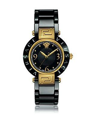 Versace Reloj con movimiento cuarzo suizo Reve 92QCP9D008SC09 Negro 35,00 mm