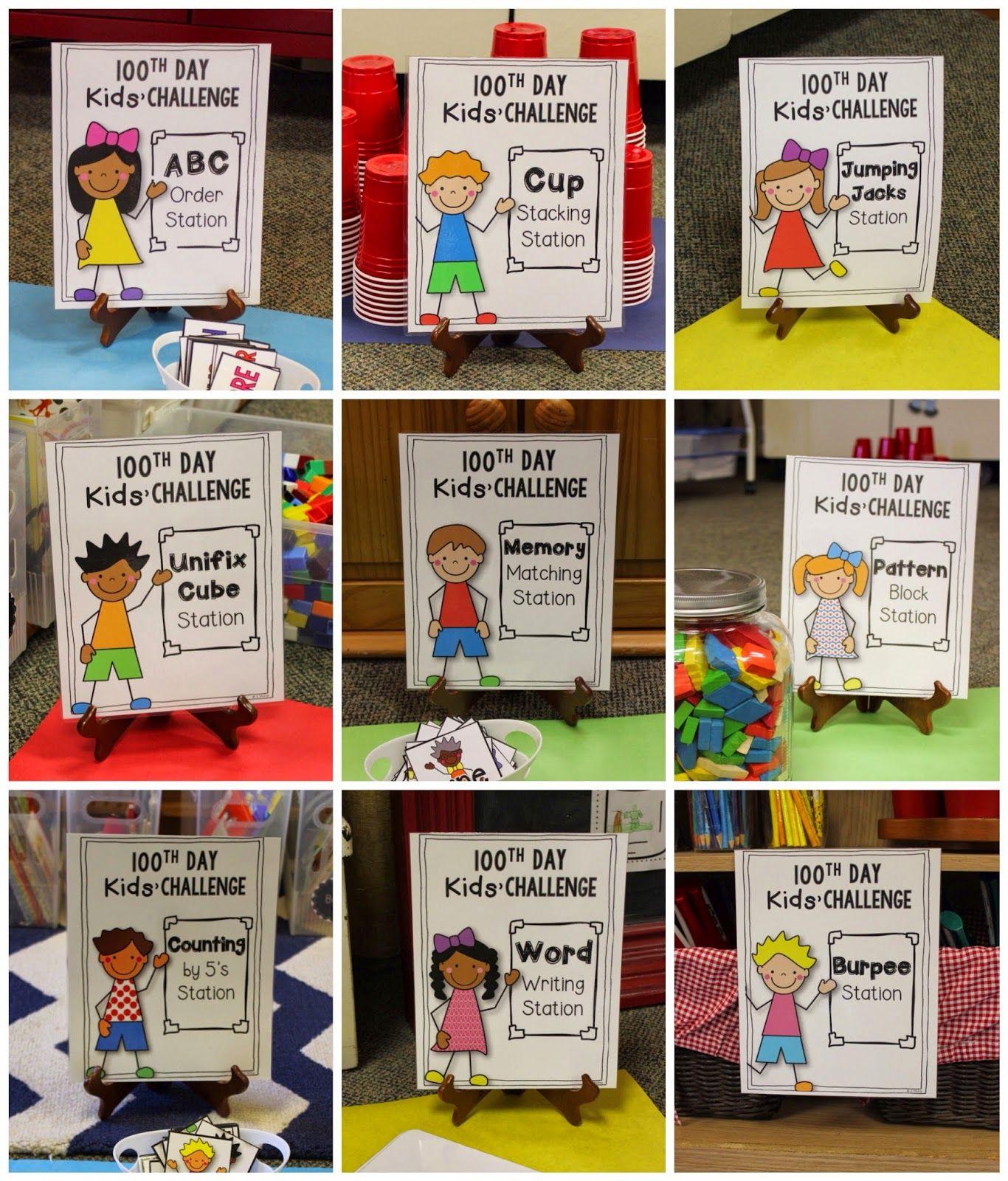 First Grade Teacher Blog 100 Day Celebration 100 Days Of School School Celebration
