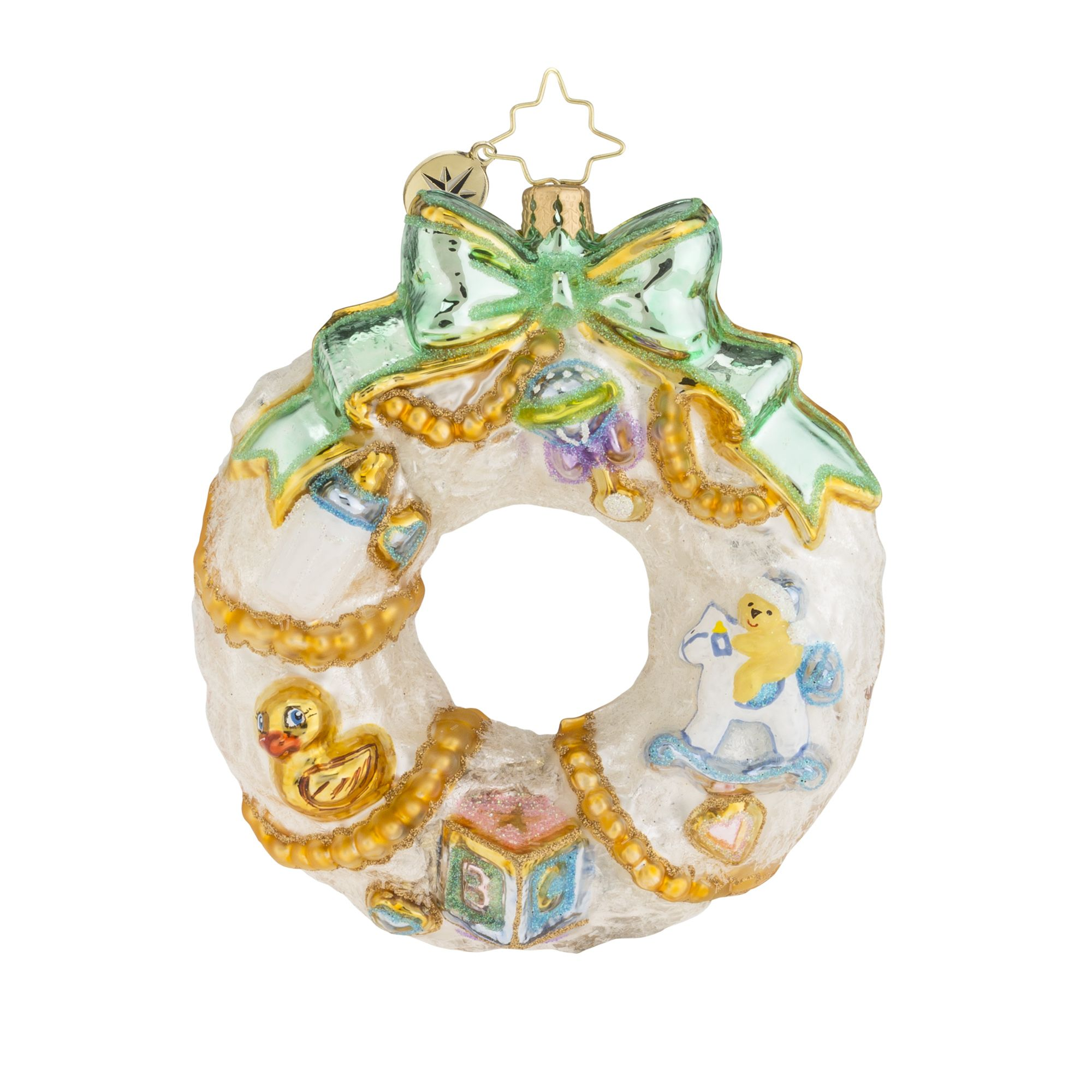 A wintry christopher radko ornaments antique