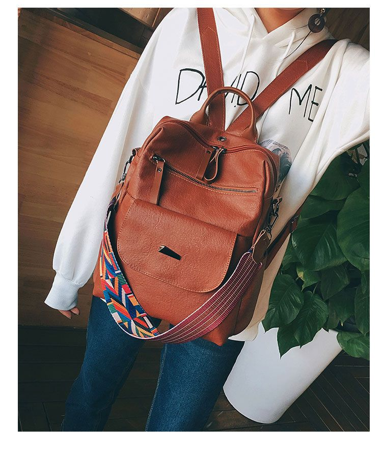e69a999442c4 Buy MUSA Faux-Leather Convertible Backpack | YesStyle | leather in ...