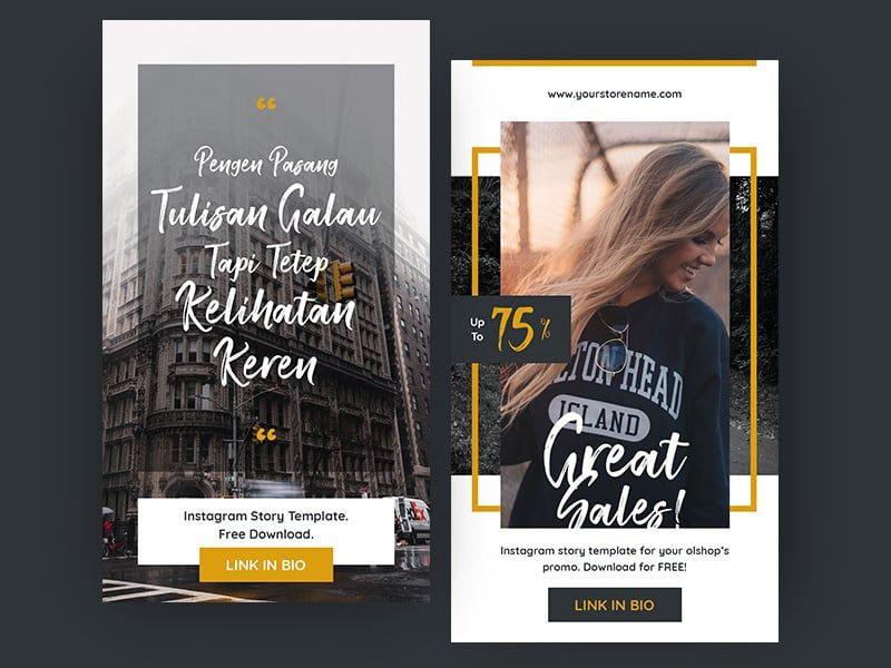Free Instagram Stories Templates Free Instagram Story Template 2 Different Designs For 2 Different Pur Instagram Story Template Story Template Instagram Story