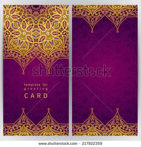 Retro Vintage Wedding Greeting CardBlue BackgroundCard Or - birthday invitation card empty
