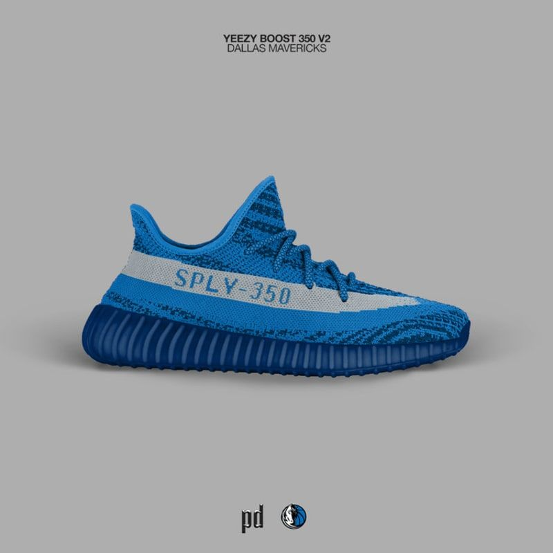 V2 2018 Adidas Yeezy Dallas Boost Mavericks Genuine 350 UVqzpSM