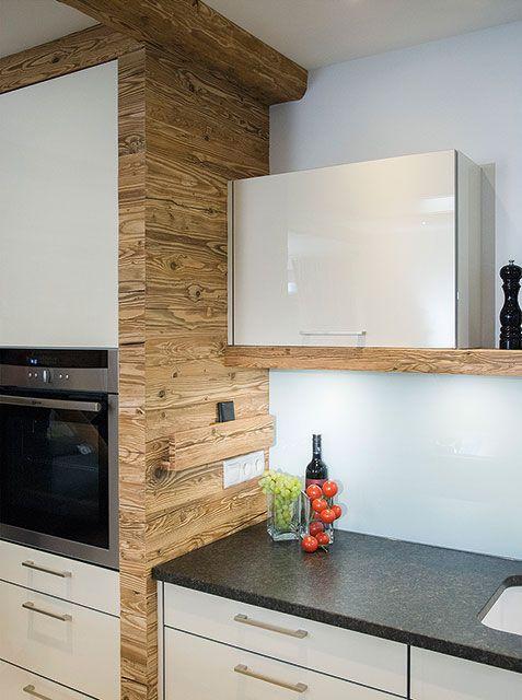 Küche im original naturbelassenem Altholz-Design (C - küchen aus altholz