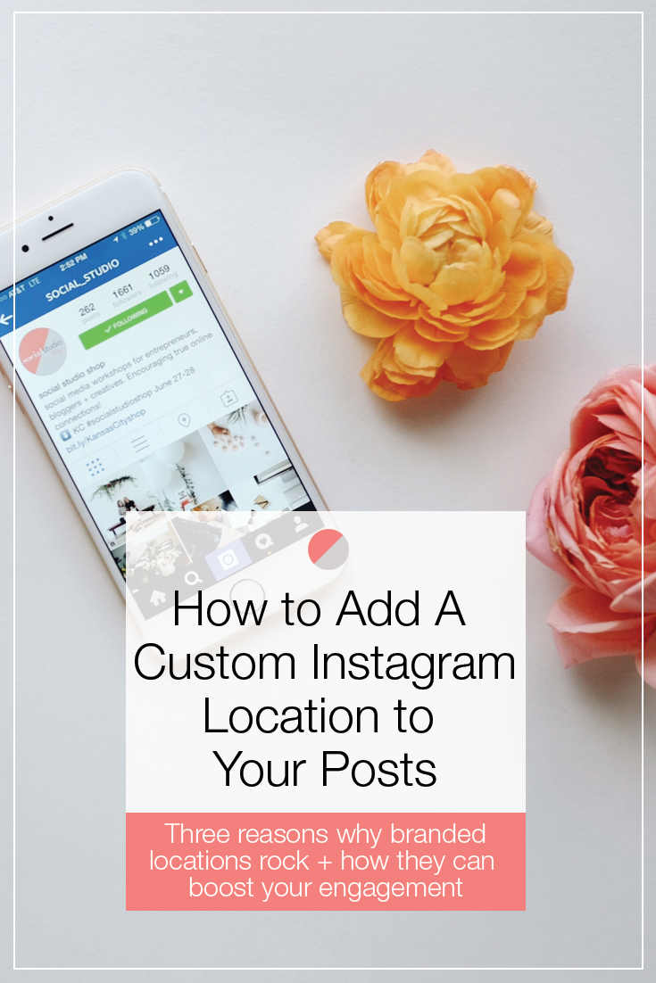 How to add a custom location to instagram part i pinterest the step by step process for adding a custom location to your instagram posts ccuart Images