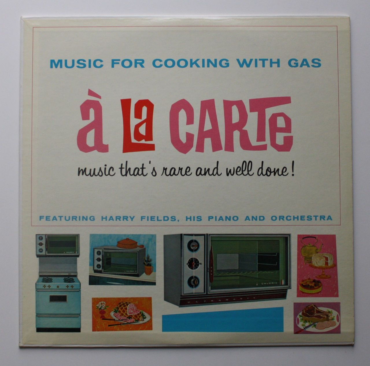 Carte Orchestra.Harry Fields His Piano And Orchestra Music For Cooking With Gas A