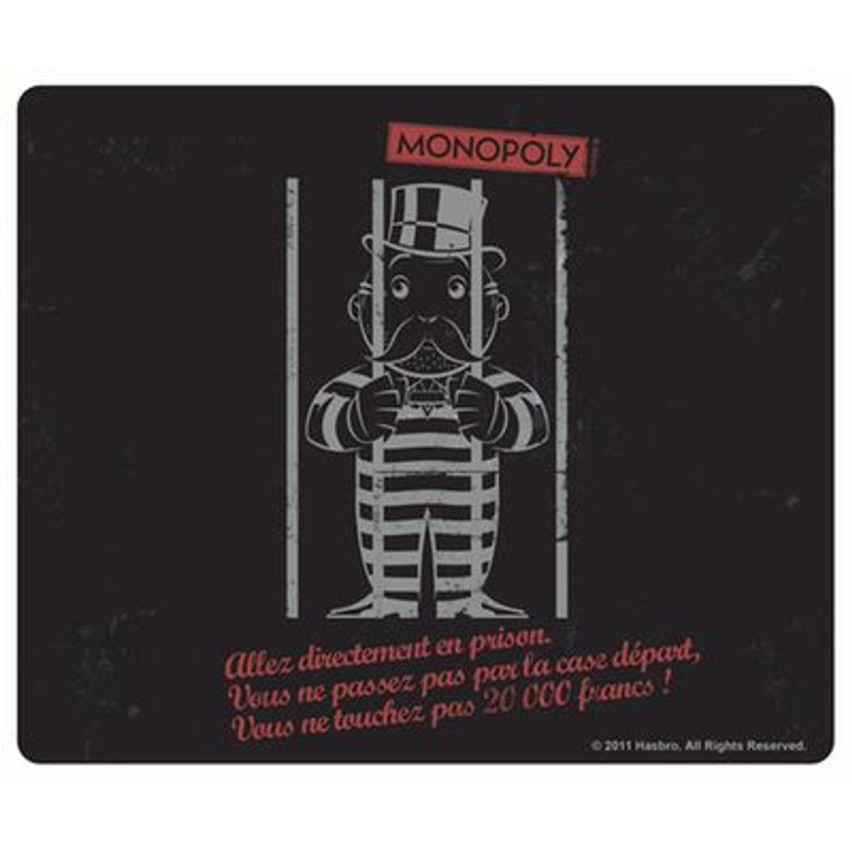 Monopoly Tapis De Souris Prison Tapis De Souris Monopoly Et Tapis