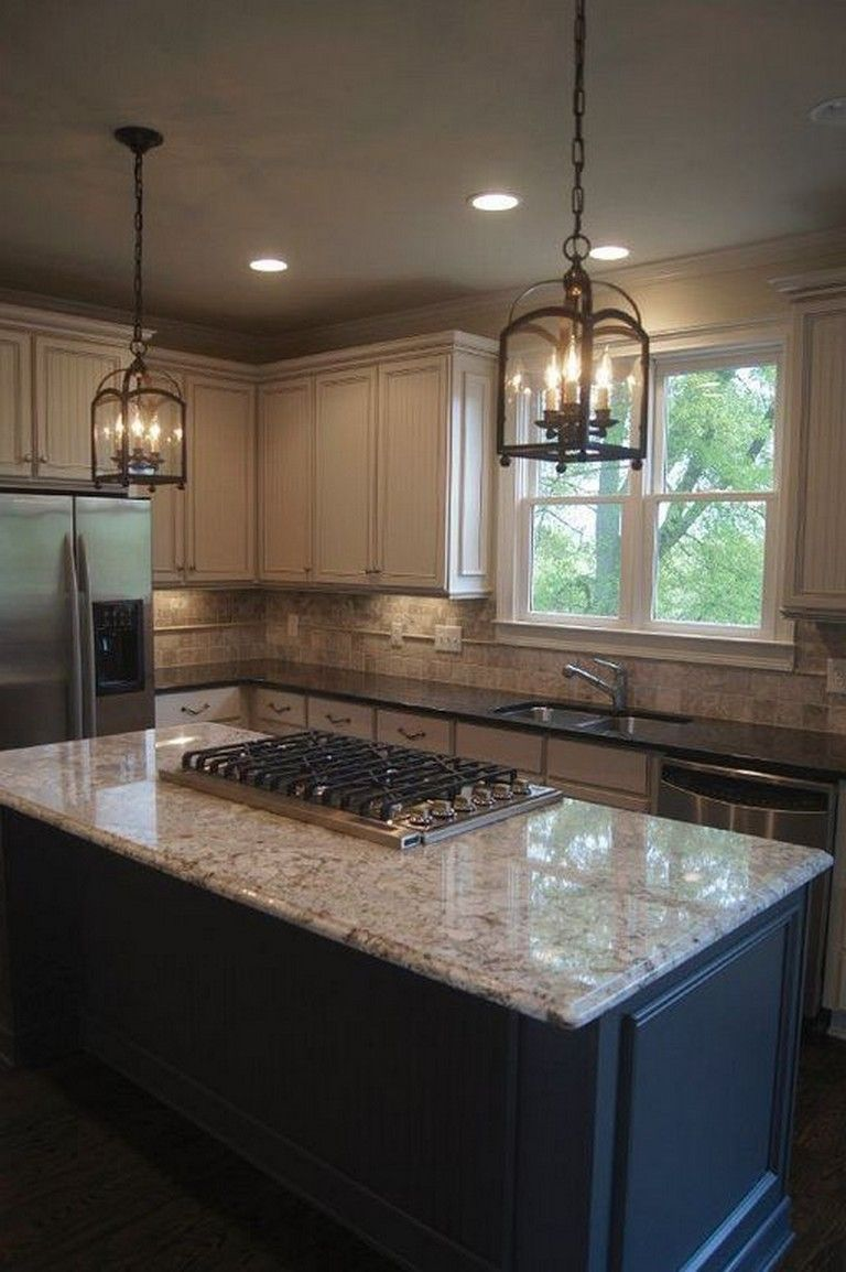 20 stunning light cabinets dark countertops favorite kitchen kitchens kitchendesign kitc on kitchen remodel dark countertops id=54286