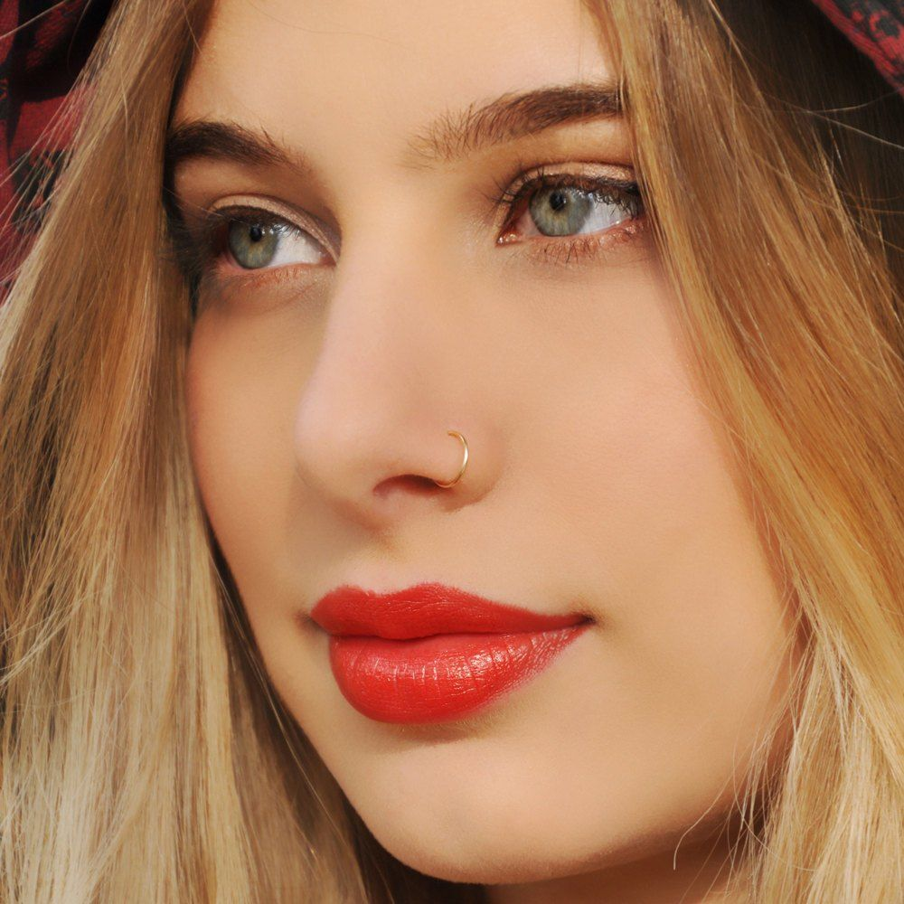 Gold Nose Ring For Womens 2017 Sexy Style For Hot Girls -6605