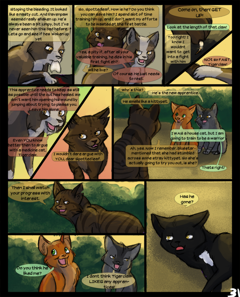 Warriors Into The Wild Online: Warriors Into The Wild: Page 31 By Winggal On DeviantArt