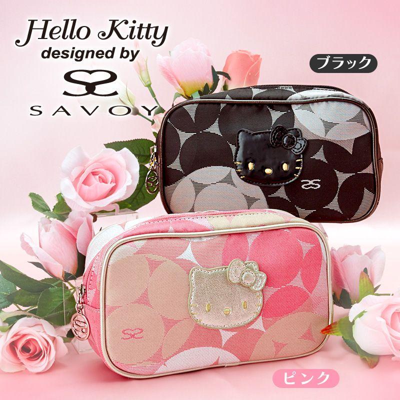 SAVOY~Hello Kitty Tote Bag Rose Black