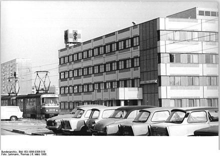 Halle-Neustadt Polyclinic, DDR