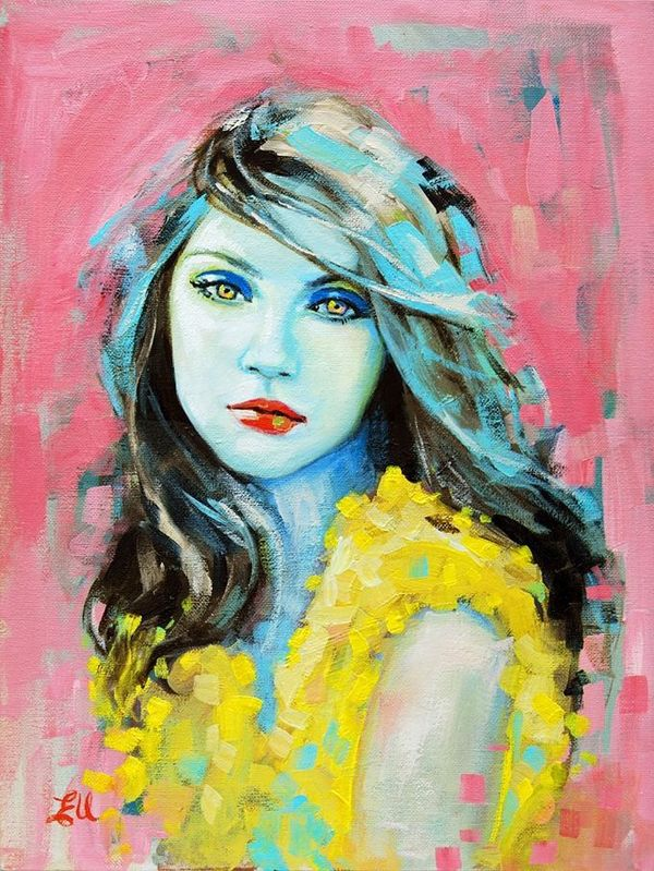 Famous Artists Paintings of Women | Expressive portraits ...