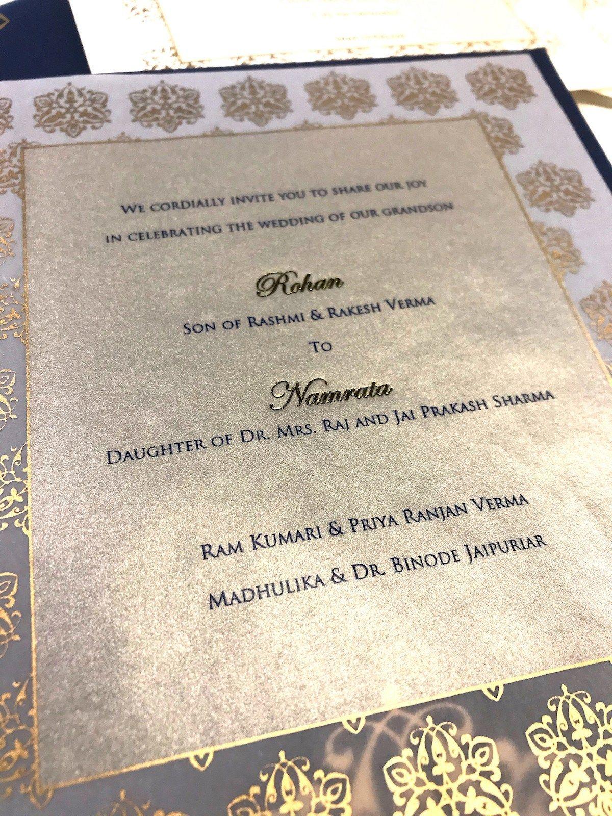 Indian Wedding Invitation Indian Wedding Invitation Wording In