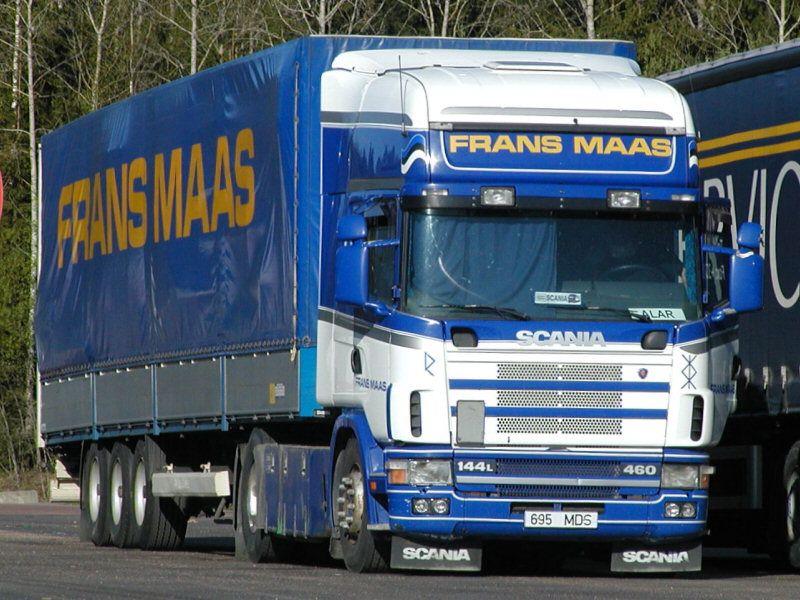 FM Eesti, Tallinn, Estonia    Frans Maas Transport Company 1890-2006