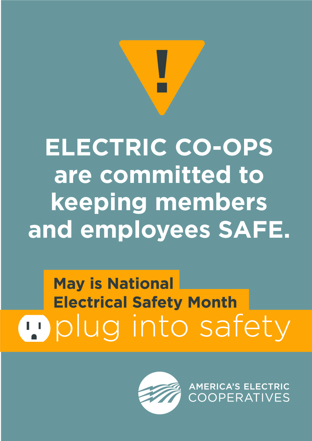This May, take the time to plug into safety Plugs
