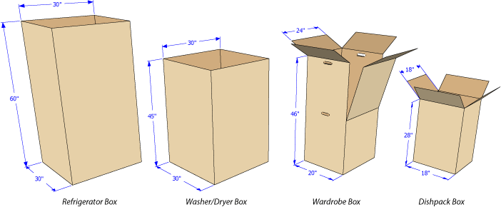 Cardboard Castle Instructions.  Use more boxes to make the castle taller!