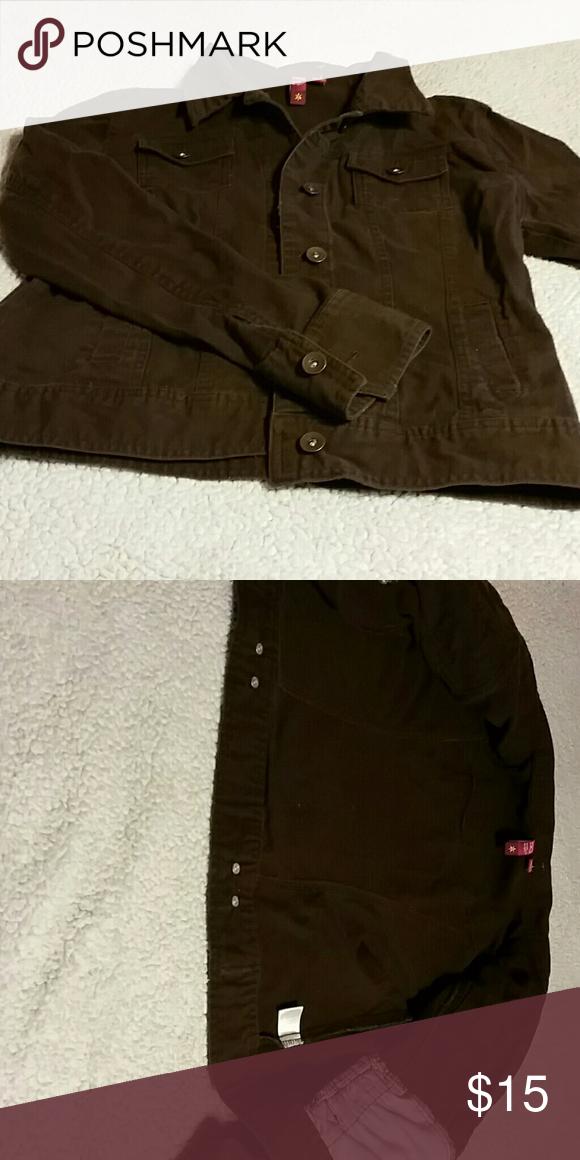 Coat SO, light jacket.  Chocolate brown SO Jackets & Coats Jean Jackets