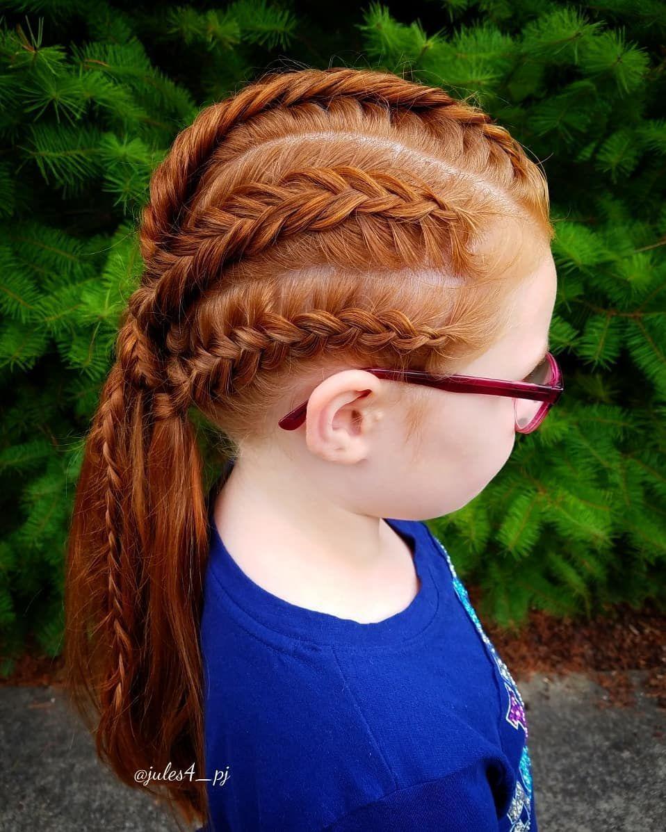 Viking Braid Dutch Fishtail Braid Dutch Braids Braid Combos Braids For Kids Ginger Redhead Hairstyles Hair Styles Fish Tail Braid Braided Hairstyles
