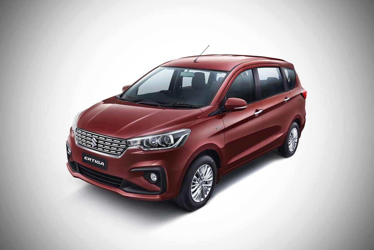 2018 Maruti Suzuki Ertiga Priced from INR 7.44 Lakh in