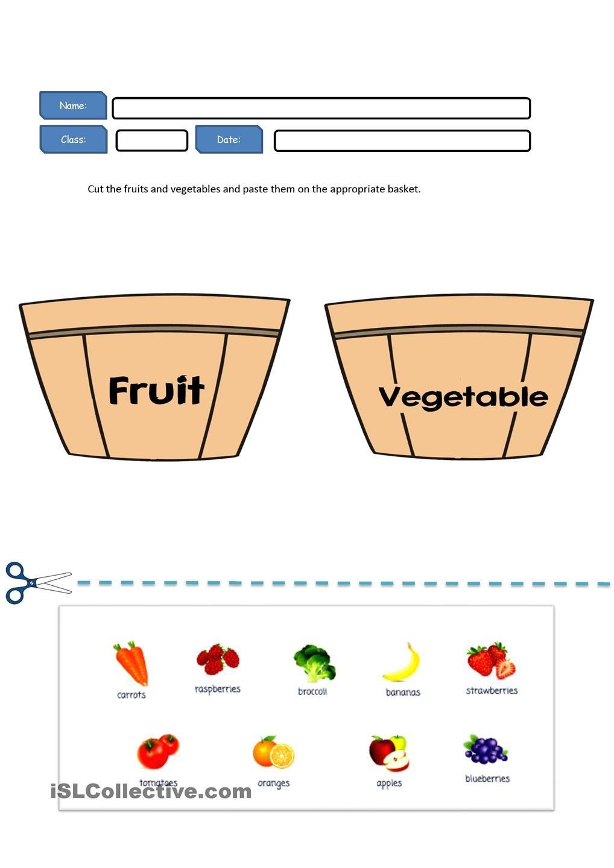 fruit and vegetables artful teaching pinterest worksheets printable worksheets and teacher. Black Bedroom Furniture Sets. Home Design Ideas