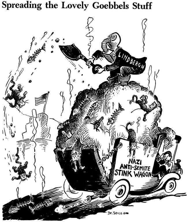 Political messages of Dr. Seuss