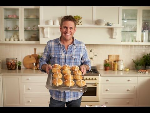 how to make hot buns