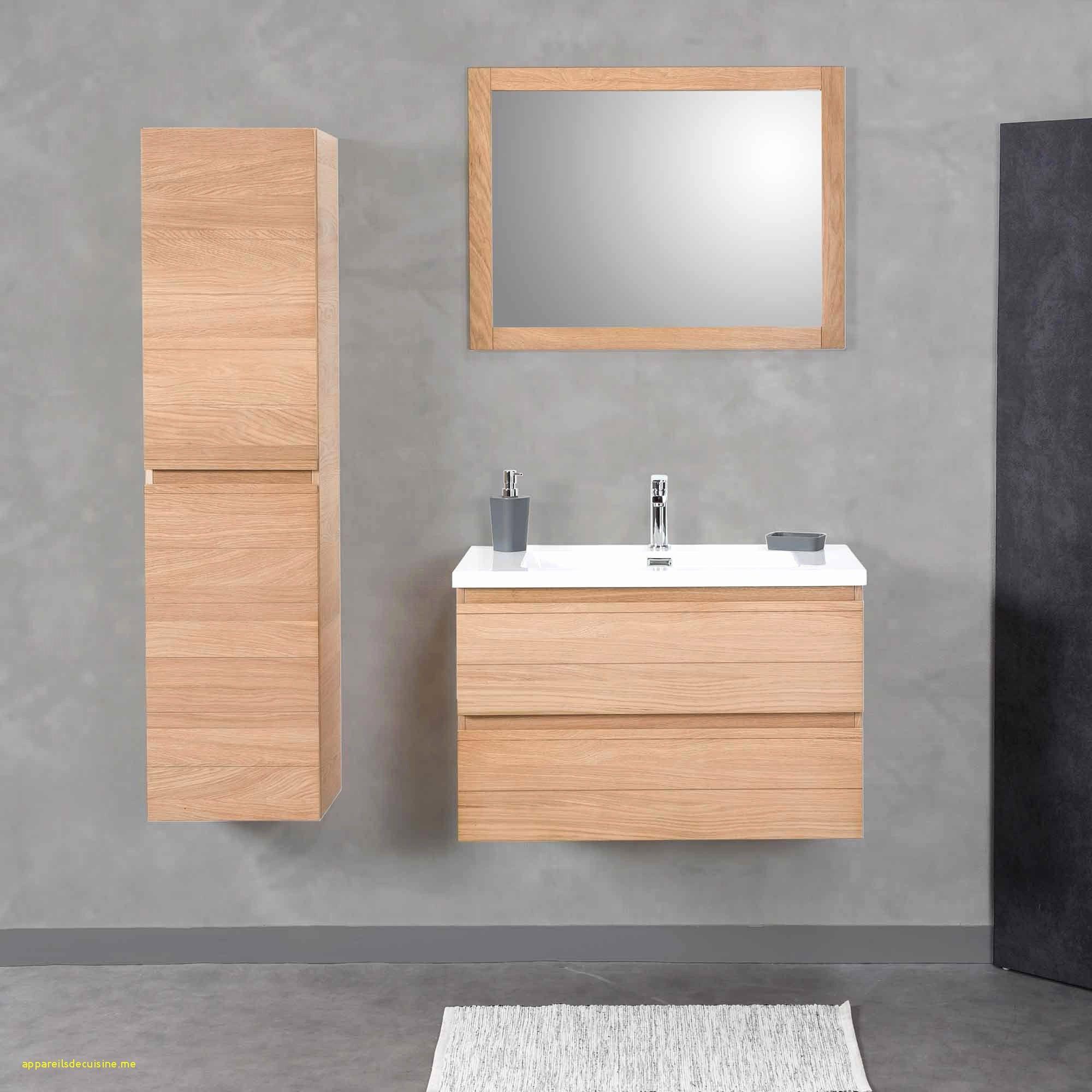 Meuble Miroir Salle De Bain Pas Cher