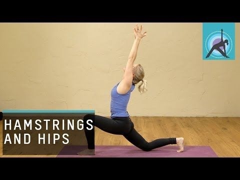 hamstrings and hips yoga month  week 3  youtube