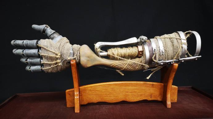 Homemade Sekiro Prosthetic Arm Is Cooler Than The Game Prosthetics Dark Souls Art Arms