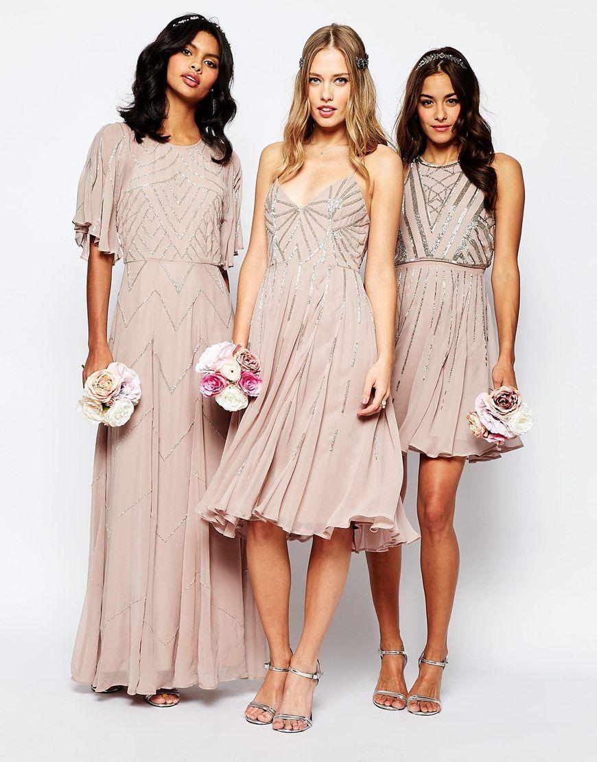 Image 4 of asos wedding embellished cami midi dress bridesmaid image 4 of asos wedding embellished cami midi dress ombrellifo Gallery