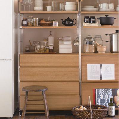 キッチン背面収納アイデア集 使いやすい背面収納はこう作ります リフォーム費用 価格 料金の無料一括見積もり リショップナビ キッチン 背面 収納 収納 アイデア 無印キッチン収納