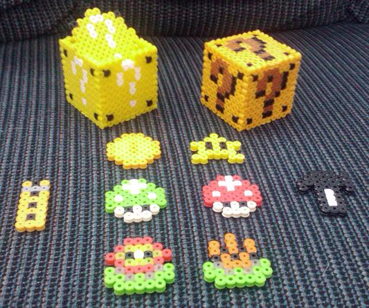 Mario Perler Power Collection by Undertakoshi.deviantart.com on @deviantART