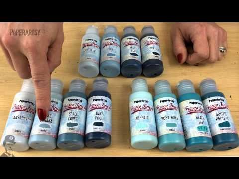 Fresco Finish Chalk Acrylics By Paperartsy Information Video Youtube Art And Craft Videos Paper Artsy Mixed Media Art Journaling