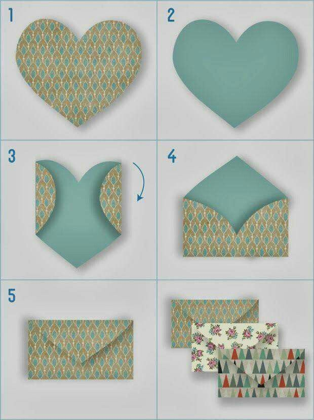 Pin By Hana Mala On 8 Martie Handmade Envelopes Paper Crafts Diy Crafts