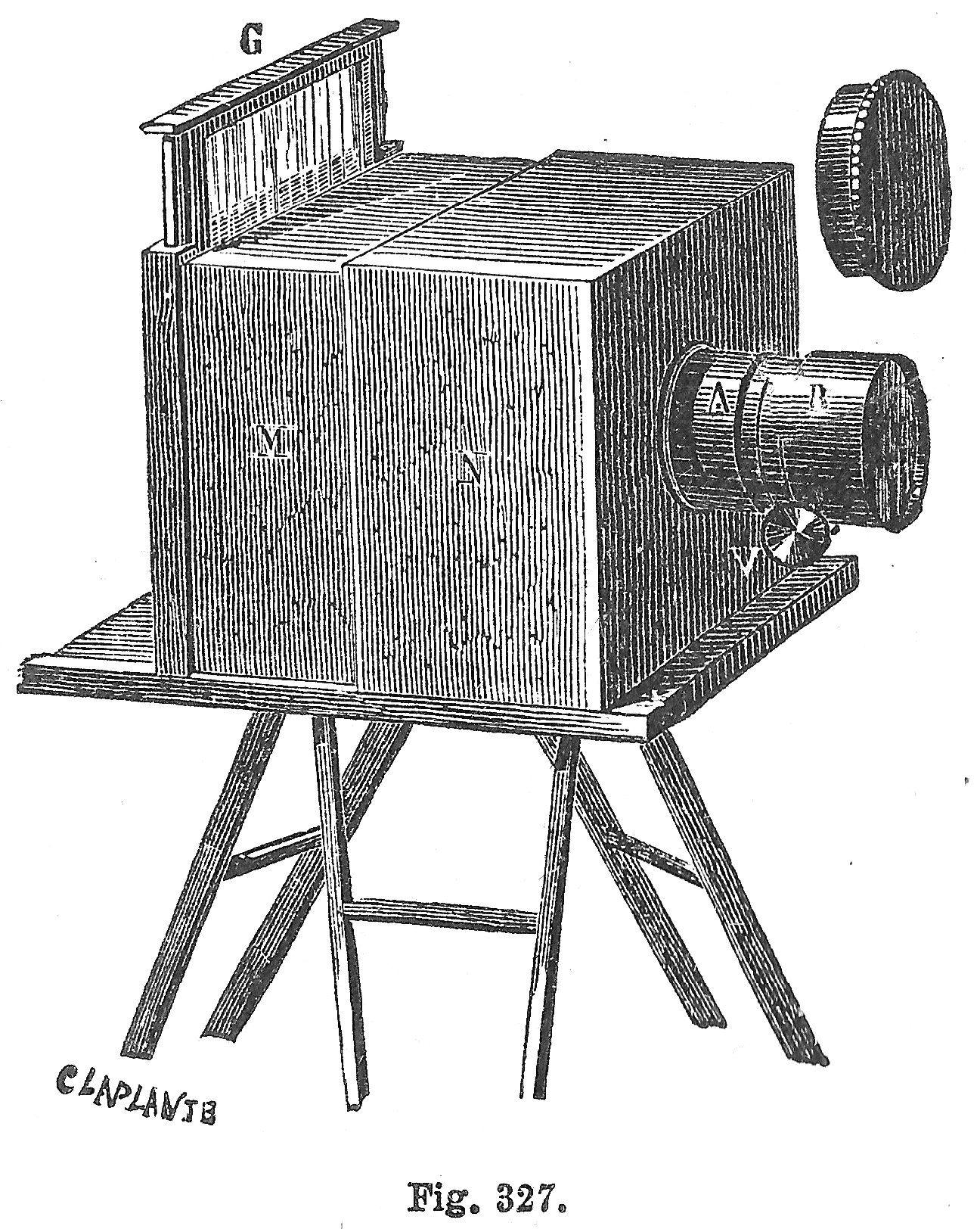 Дагерротип и на как называется фотоаппарат