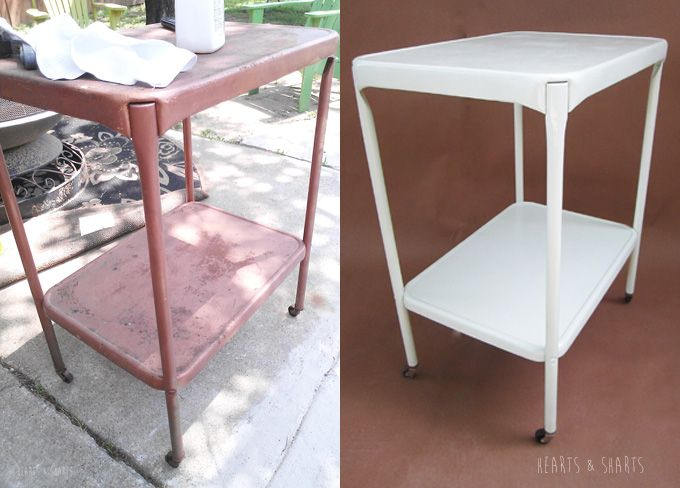 Furniture Refurb Painting Over Rusted Metal