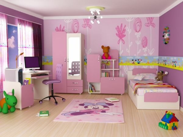 1001 kinderzimmer streichen beispiele tolle ideen f r die wandgestaltung bauidee. Black Bedroom Furniture Sets. Home Design Ideas