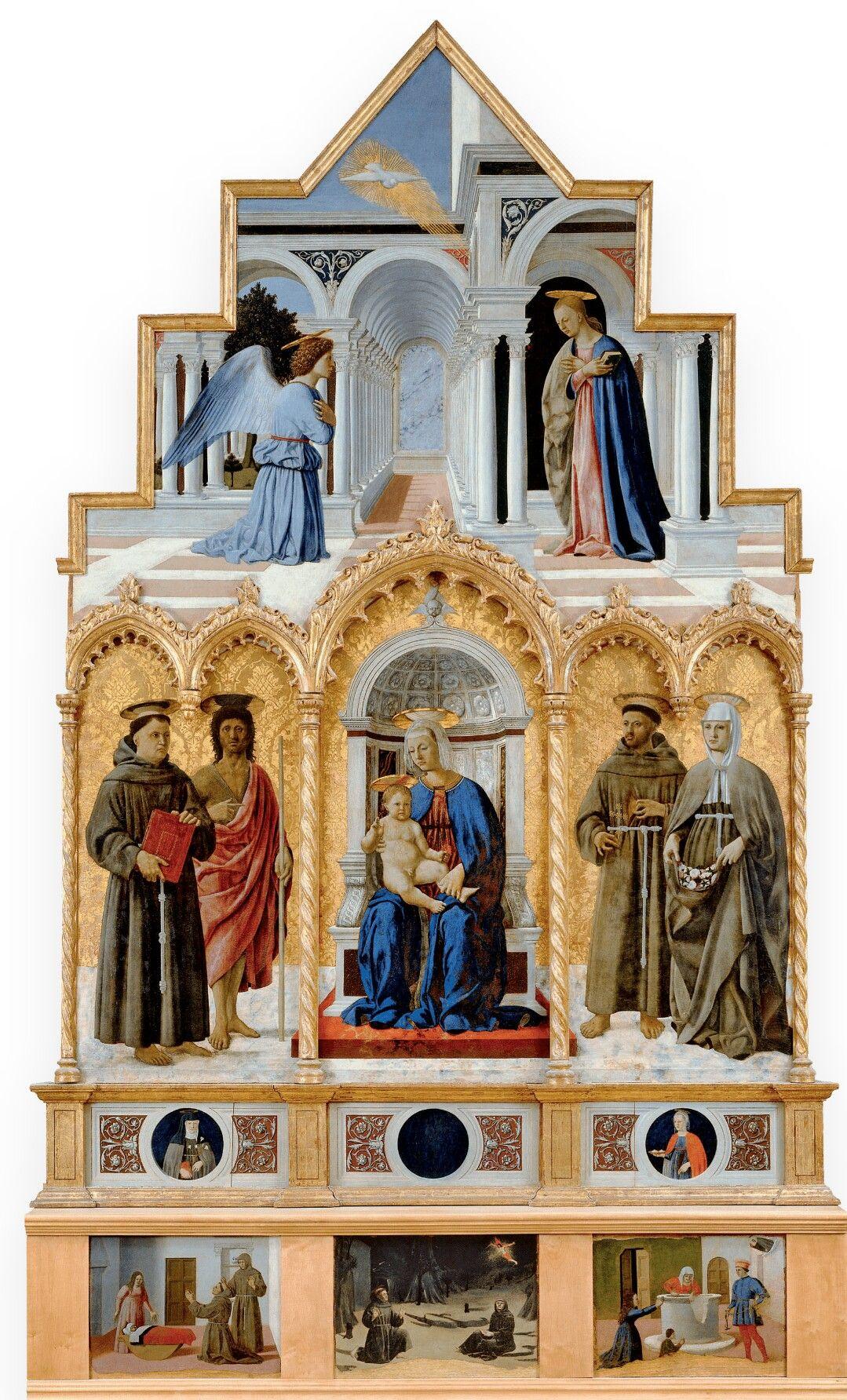 Polittico di Perugia. 1460-1470 338x238. Galleria ...