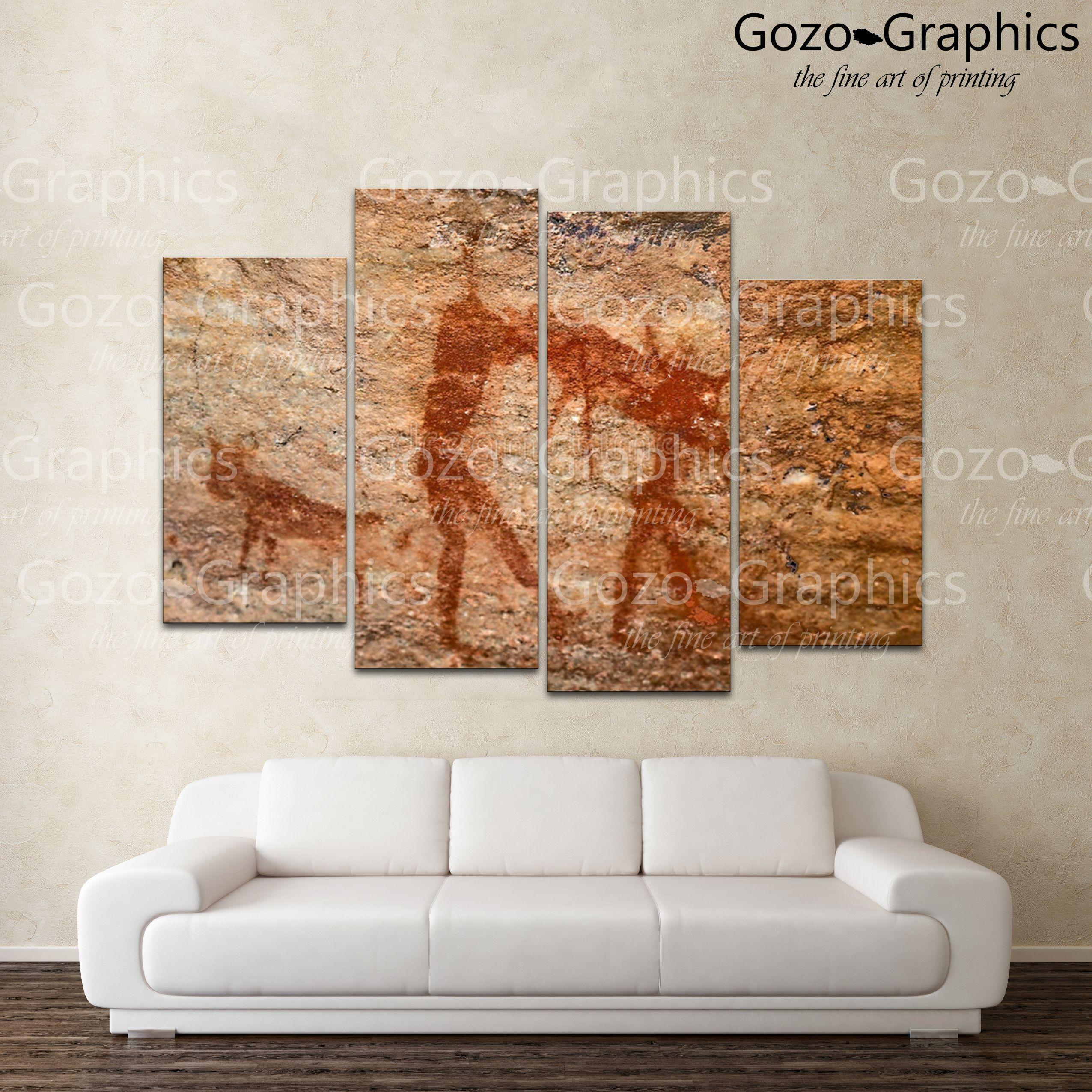 00929 Cave Painting Gozo Graphics
