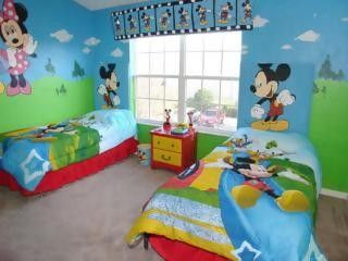 Mickey & Minnie Bedroom - Disney\'s Castle - Kissimmee ...