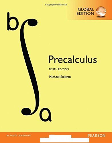 Precalculus global 10th edition by sullivan e book pdf precalculus global 10th edition by sullivan e book pdf fandeluxe Image collections