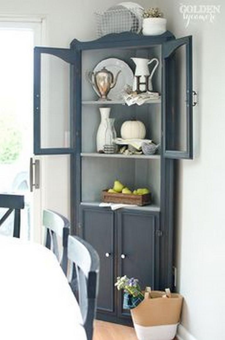Superb Stylish Farmhouse Corner Hutch Models On Simplicity