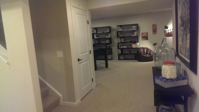 Finished Basement In The Venice At Ryan Homes Finishing