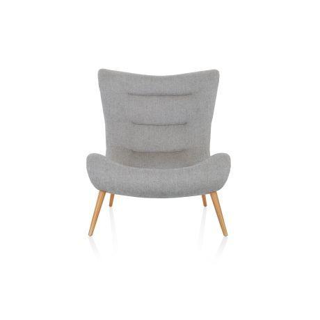 design sessel salz und pfeffermuster retro look vorderansicht wohnzimmer pinterest. Black Bedroom Furniture Sets. Home Design Ideas