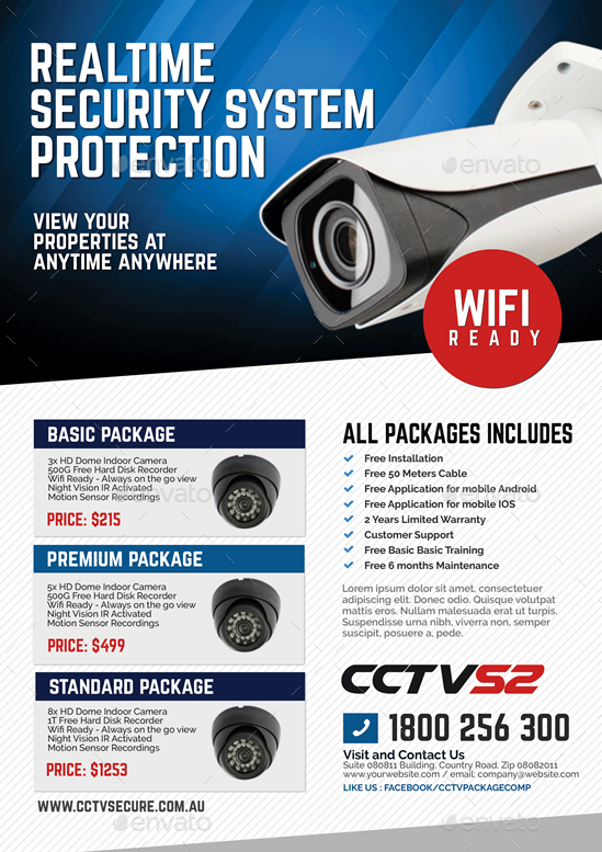 10+ Best For Cctv Camera Advertisement Pamphlet