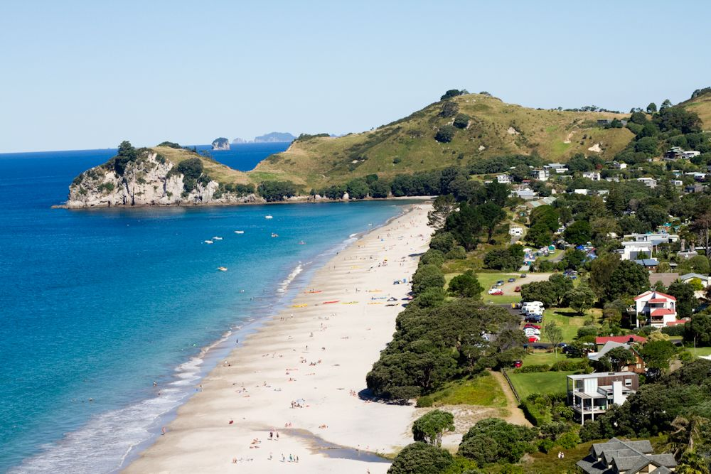 Hahei Beach And Cathedral Cove Wellington New Zealand